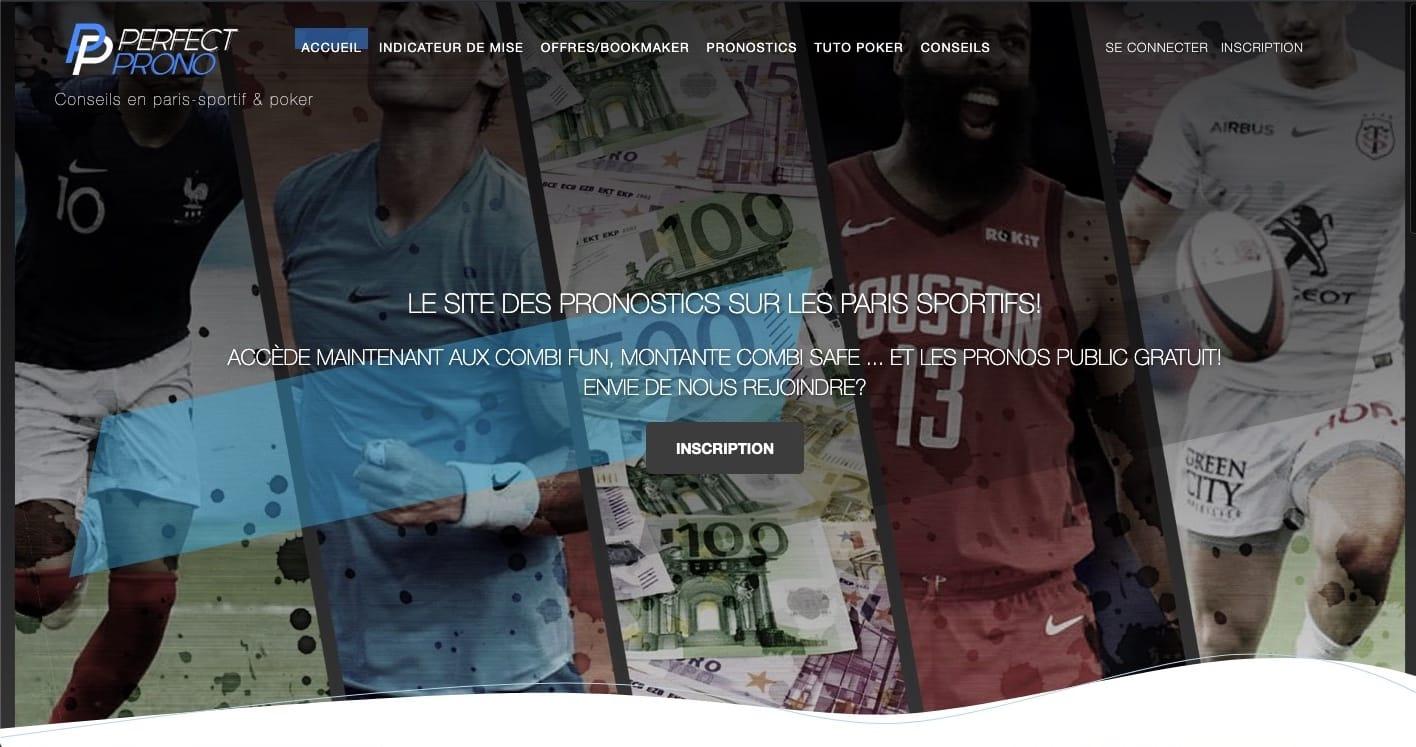 Site de pronostic - Julien Webotop
