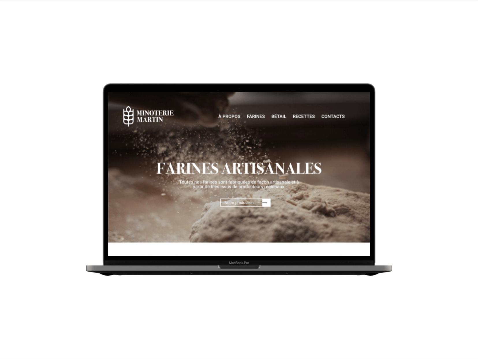 Webdesign - Lucile Charvin